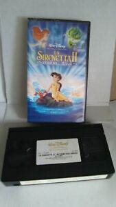 Disney: La Sirenetta 2 VHS Video Tape **ITALIAN VERSION** - 455/21