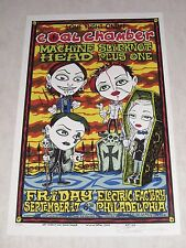 Coal Chamber Concert Poster Alan Forbes Silkscreen Signed Numbered 1999
