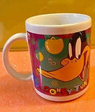 Collectible 1996 Warner Bros Daffy Duck Coffee Mug Cup