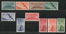 s33528 SAN MARINO 1946 MNH  Posta Aerea Vedute 10v #50/59