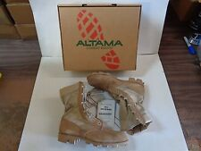 NEW IN BOX Altama Dry Hot Weather Type II Desert Tan Combat Boot Size 8 Regular