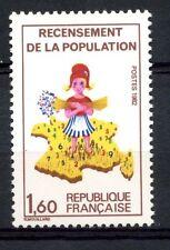 Francia 1982 Sg # 2523 censo de población Mnh #a 54273