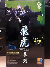 DRAGON 1/6 Figure RARE Hong Kong Police S.D.U.飛虎系列 Cover Ray - 73004