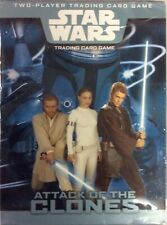 Star Wars Attack of the Clones Two Player Starter CCG Factory Sealed Box