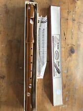 The Genuine Handmade Adler Recorder, original box and instructions.