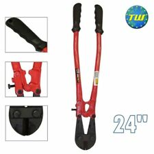 "24"" Heavy Duty Carbon Steel Metal Chain Wire Cable Bolt Lock Cutter Cropper"