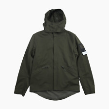 Stone Island Water Repellent Wool Ghost Piece Hooded Jacket Coat L BNWT Green