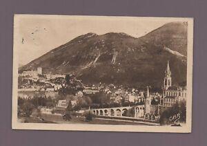 Lourdes - La Basílica Y Castillo (D120