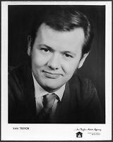 ~ Van Trevor 1960s Original Country Music Promo Portrait Photo 1960s Nashville