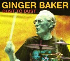 GINGER BAKER - DUST TO DUST  CD NEW!