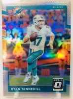 2017 Donruss Optic #68 RYAN TANNEHILL Silver Holo PRIZM - Tennessee TITANS