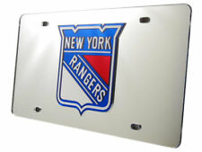 New York NY Rangers NHL Logo Mirror Look LASER License Plate