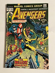 The Avengers 1976 #144 DC Comic Book 1st Appearance Hellcat Key Issue