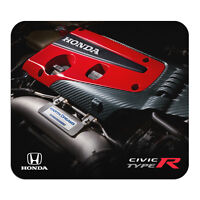 Honda Civic Type-R Engine View Graphic PC Mouse Pad