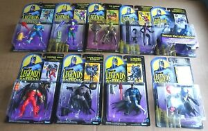 MULTI-LIST SELECTION OF KENNER LEGENDS OF BATMAN ACTION FIGURES 1994 FREE UK P/P
