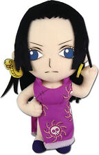 "NEW One Piece Boa Hancock 8"" Stuffed Plush Doll By GE Official Licensed GE52715"