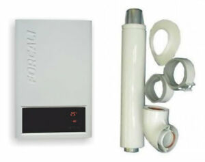 Forcali 12L LPG Room Sealed Water Heater & Horizontal Flue Replace Morco F11