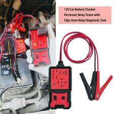 12V Auto Car Diagnostic Battery Checker Tool Electronic Automotive Relay Tester