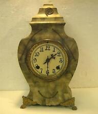 Antique Newhaven New Haven Iron mantel clock Fixer . Heavy