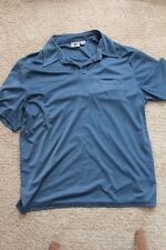 GUESS JEANS SHORT SLEEVE Blue POLO SHIRT MENS SIZE L