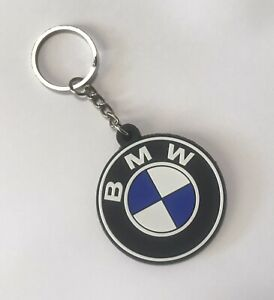 BMW Soft ABS Rubber Key Chain Ring Keychain Keyring 3D Logo Car Motorcycle Gift