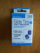 """DMI, Walker Glide Tips, 1"""" , New in Package"""