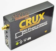 CRUX WVI A/V Interface, Stream iOS & Android Wirelessly to Monitor w/ RCA WVI-X