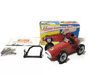 Schuco Grand Prix Racer 1070 Red Wind Up Toy w/ Original Box