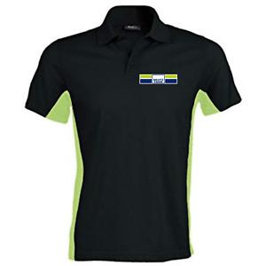 Deutz Fahr Agrotron Warrior Two Tone Quality Printed Heavyweight Polo Shirt New