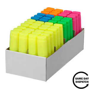 New Classmates 48 Assorted High Quality Highlighters Classpack 6 Vibrant Colours