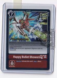 Happy Bullet Showering BT6-095 Pre-Release Digimon Card Game
