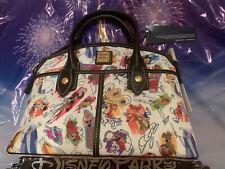 Disney Ink and Paint Satchel by Dooney & Bourke