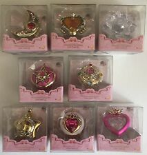 Sailor Moon Miniaturely Tablets Lockets Set of 8 With Star Locket