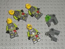 Lot de Personnages LEGO ATLANTIS Minifig / Set 8057 8078 8077 8075 8057 ...
