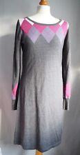 Next Jumper Dress 12 Grey Pink