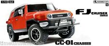 Tamiya 58588 Toyota FJ Cruiser - CC01 RC Car Kit  (CAR WITHOUT ESC)