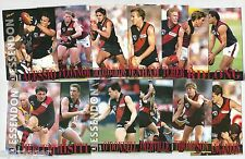 1996 Select Centenary Series 1 ESSENDON Team Set & 1 Future Star **