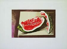 Lithography Lithographie Litografia Renato GUTTUSO Anguria 1981 Prova d'Artista