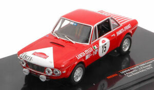 Lancia fulvia 1600 hf n.15 rally san remo 1972 ragnotti-rouget 1:43 modellino