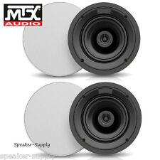 """MTX ICM612 6.5"""" 2 Way 50 Watt RMS 100W Peak 8 Ohm In Ceiling Speaker Home Audio"""
