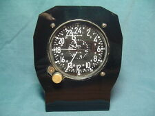 Aircraft clock stand,aviation,CDIA Waltham,aircraft clocks,vintage clocks,
