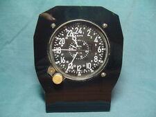 Aircraft clock stand,aviation,CDIA Waltham,aircraft clocks,vintage clocks,