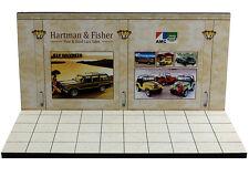 Diorama présentoir AMC Jeep Showroom - 1/43ème - #43-2-C-C-014