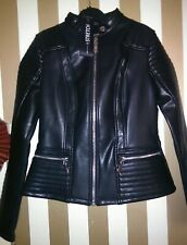 Guess Very Nice Faux Leather  Autumn  Jacket  Size: S