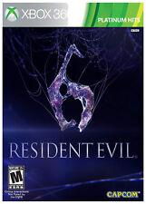 Resident Evil 6 Microsoft Xbox 360 - Capcom - Factory Sealed