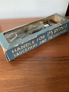 Vintage Pyrosil Handle Detachable for Pans Pyrex Lock on Original Box Corning
