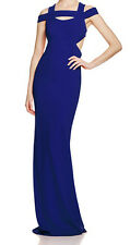 Nicole Miller New Off The Shoulder Cutout Gown Size 2 MSRP $565 #AN 608