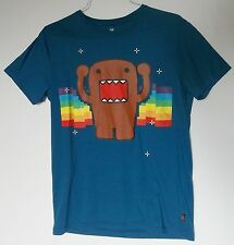 Domo Kun  Men's Size Medium  Blue T-Shirt  Japanese Animation