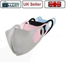 1 x Face Masks Mouth Cover Reusable Washable Breathable Men Women Kids UK M1010