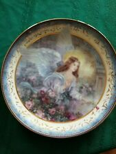 """New listing Lenox """"On Loving Wings"""" Rare Collector Plate New 8"""""""